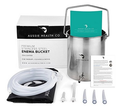 reduce cellulite with enema kit